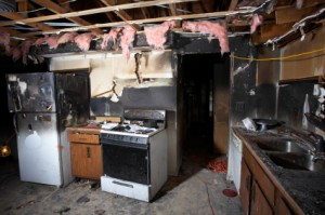 House Fire Series - Kitchen
