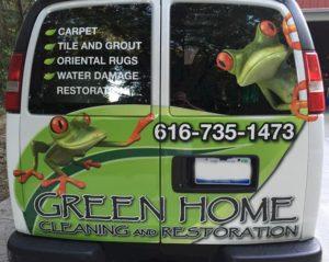 green home van