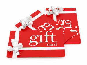 gift card for residential carpet cleaning
